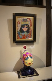 田頭加奈子さんの作品展を見に行きました。2