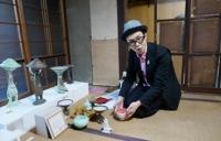 ワクイアキラ作の抹茶碗で頂くお茶会_main