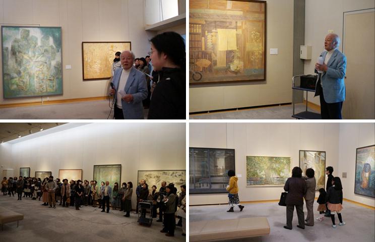 松伯美術館で日本画コース展!