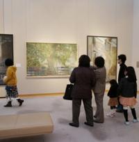 松伯美術館で日本画コース展!_main
