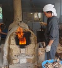 手づくりの窯で焼成しました!_main